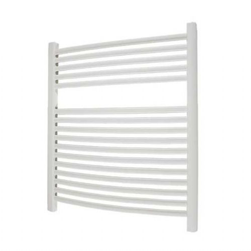 Abacus Elegance Radius Curved Towel Rail - 750mm x 600mm - White
